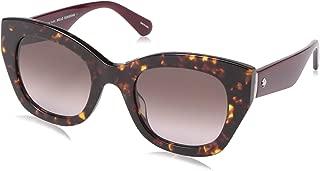 Women's Jalena/s Cateye Sunglasses, Dark Havana, 49 mm