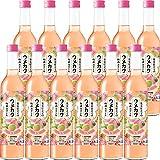 サッポロ ウメカク 果実仕立ての梅酒カクテル 白桃 500ml×12本
