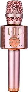 BlueFire Mikrofon do karaoke, dla dzieci, 4 w 1, bezprzewodowy przenośny mikrofon z głośnikiem, nagrywanie dźwięku, na imp...