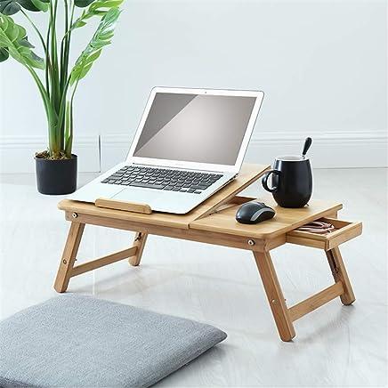 实木折叠笔记本电脑桌床上桌懒人桌学习桌炕桌双花大号 (原木色( 54 * 34cm))