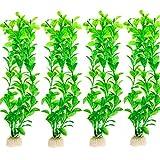 Danmu Art 4pcs 25cm plastica pianta artificiale piante acquatiche acquario piante per acquario