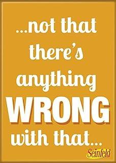 """مغناطيس """"Not That There's Anything Wrong"""" مقاس 6.35 سم × 8.89 سم للثلاجات والخزانات من أتا-بوي"""