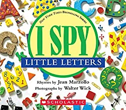 Our 10 Favorite ABC Books - I Spy Little Letters