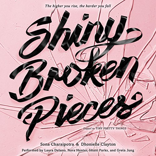 Shiny Broken Pieces audiobook cover art