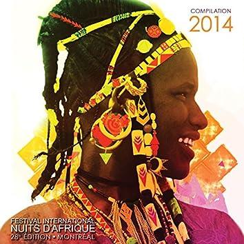 Festival International Nuits d'Afrique - compilation 2014