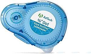 Adtech Permanent Adhesive Dots Glue Runner 3 Pack