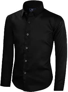 Boys' Signature Sateen Long Sleeve Dress Shirt