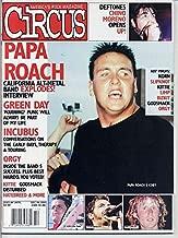 Circus PAPA ROACH Kittie GREEN DAY Slipknot INCUBUS Deftones KORN Orgy GODSMACK December 2000 C