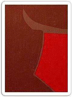 gordonstore Sticker Creature Animal The GNU Crimson Animals Fauna (3