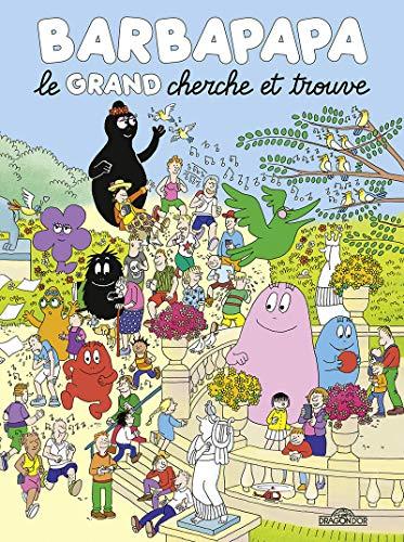 Barbapapa - Le grand cherche et trouve - Album grand format tout-carton illustré - Dès 3 ans