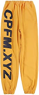 Arnodefrance Unisex CPFM.XYZ Sweatpants Joggers Yoga Lounge Pants Pockets Retro Casual Outdoor Hiking Running Trousers