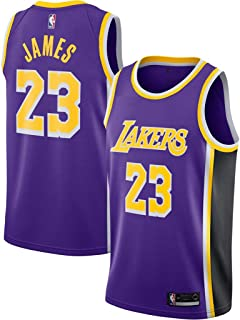 9709f5a84c5 Mitchell   Ness Men s Los Angeles Lakers Lebron James Swingman Jersey  23