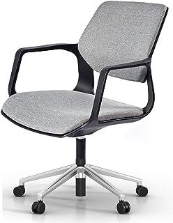 MHIBAX chaise de jeu chaise maille tissu avec accoudoir chaise pivotante moderne minimaliste chaise de bureau chaise de co...