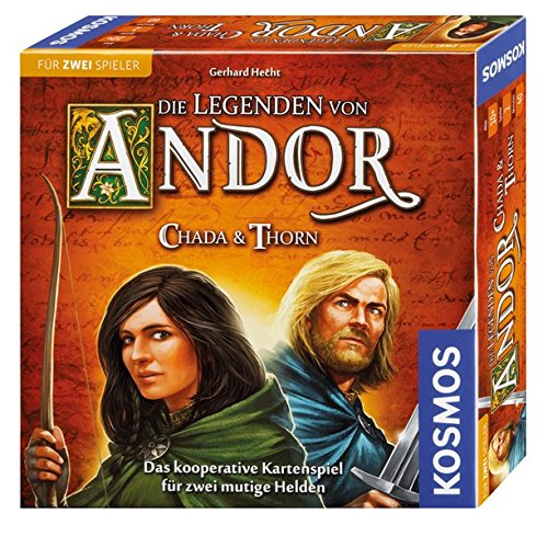 Bester der welt SPACE Legends Andor 692537 – Chada und Thorn, ein Spiel für zwei Spieler