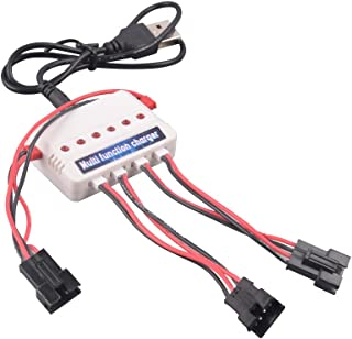 YouCute 1to3 Charger for UDI U818S U842 U842-1 UDI 001 002 902 Lark FPV Rc Quadcopter Drone Spare Parts