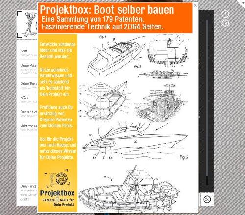 Boot selber bauen: Deine Projektbox inkl. 179 Original-Patenten bringt Dich mit Spaß ans Ziel!