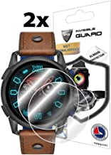 IPG for Diesel Smartwatch (47 MM) DZT2008 - DZT2009 - DZT2010 - DZT2011 Screen Protector (2 Units) Invisible Ultra HD Clear Film Anti Scratch Skin Guard - Smooth/Self-Healing/Bubble -Free