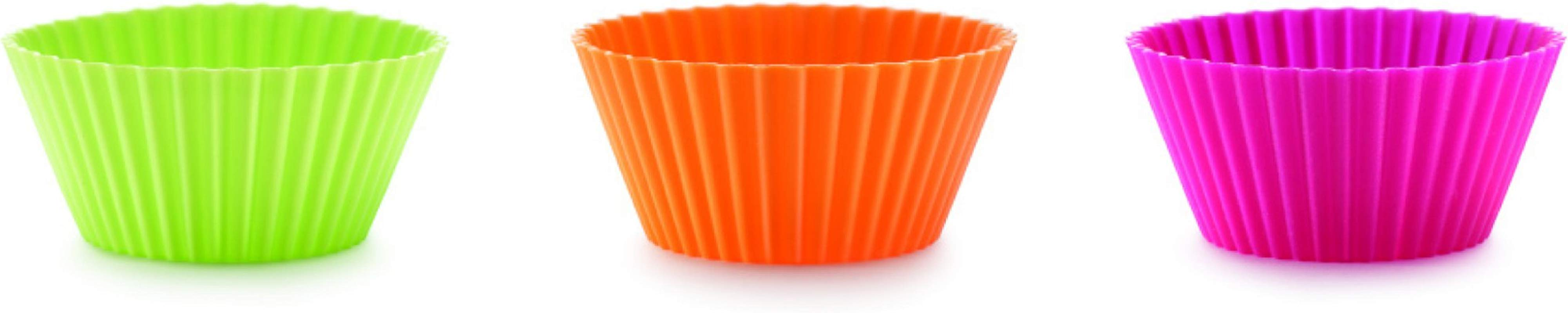 Lekue 12 Piece Muffin Cup Set Assorted