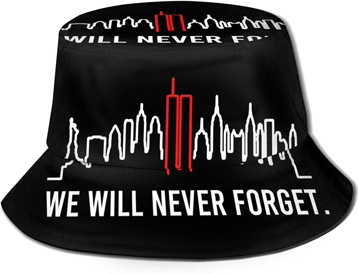 We Will 5 ☆ popular Never Forget Store 9.11 Memorial Hats Beaut Patriot Day Bucket