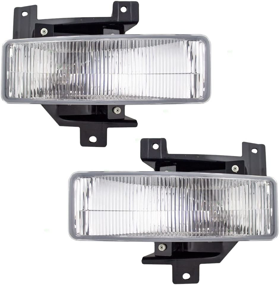 Brock Replacement Driver and 送料無料カード決済可能 Passenger NEW ARRIVAL Fog Lamps Lights Compatib
