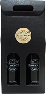 Sponsored Ad - Robert's Infused Olive Oil and Balsamic Vinegar - 2 (750ml) bottle gift pack - Tuscan Herb and Raspberry