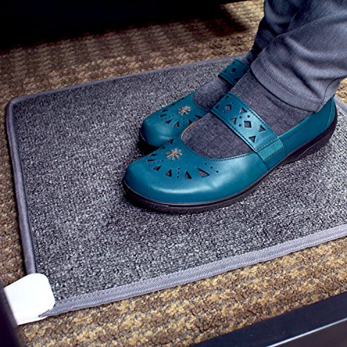 Cozy Products CT Cozy Toes Carpeted Foot Warming Heater for Under Desks and More