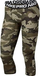 nike pro men's 3 4 training tights