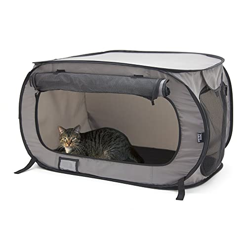 2848a7fc93 SportPet Designs Large Portable Kennel- Indoor Outdoor Crate Pets, Portable  Cat Cage Kennel,