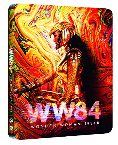 Wonder Woman 1984 [4K Ultra HD 3D + Blu-Ray-Édition Limitée SteelBook]