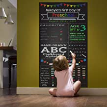ZHIDIAN Magnetic Chalkboard Contact Paper for Wall, 48