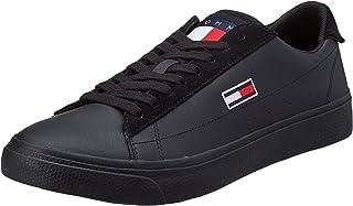 Tommy Jeans Herren Retro Vulc TJM Leather Sneaker