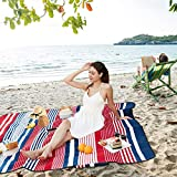 """Best Picnic Blankets - HOdo Picnic Blanket Extra Large 79""""x79"""" Outdoor Blanket Review"""