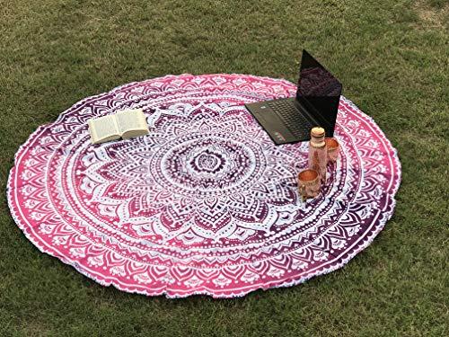 raajsee Runde Mandala Stoff Hippie Style...