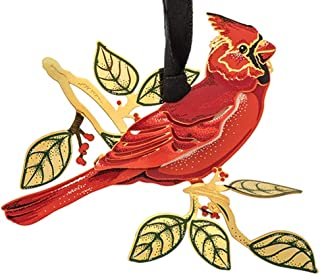 BEACON Design ChemArt Ornament - Cardinal in Nature