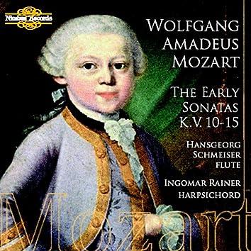 Mozart: The Early Sonatas, K.V. 10 - 15