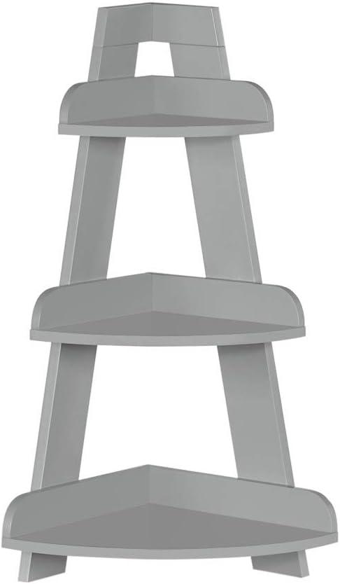 受賞店 RiverRidge Kids Corner Ladder Gray Wall 当店は最高な サービスを提供します Shelf