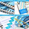 """2021-2022 Planner - Weekly & Monthly Planner with Monthly Tabs, July 2021 - June 2022, 6.3"""" x 8.4"""", Flexible Hardcover with Thick Paper, Elastic Closure & Inner Pocket #4"""