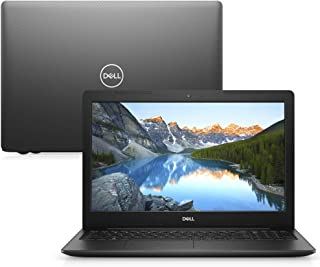 "Notebook Dell Inspiron 15 3000, i15-3583-D3XP, 8ª Geração Intel Core i5-8265U, 8 GB RAM, HD 1TB, Intel® HD Graphics 620, Tela 15.6"" LED HD, Linux, Preto"