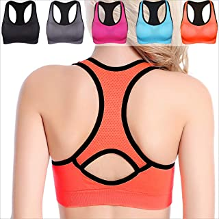 Women's Built-up Sports Bra with Power Mesh Back XL