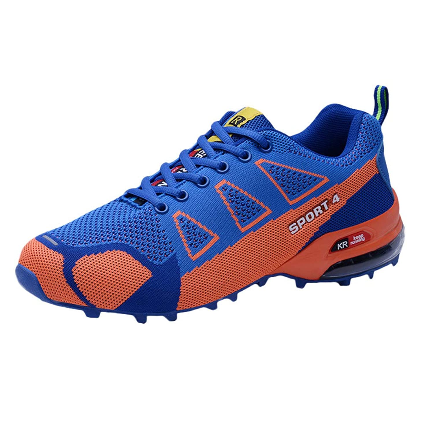 Realdo Mens Casual Outdoor Hiking Shoe Lightweight Breathable Lace-up Sneakers