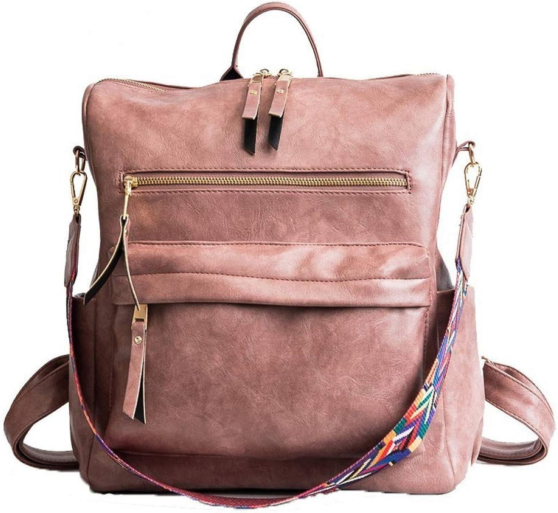 22f28e7a5b76 VITANB 11% Women Students School Bag Pu Leather Large Backpacks ...