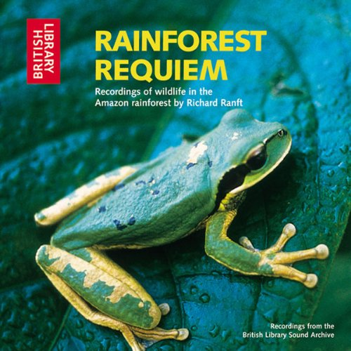Rainforest Requiem audiobook cover art