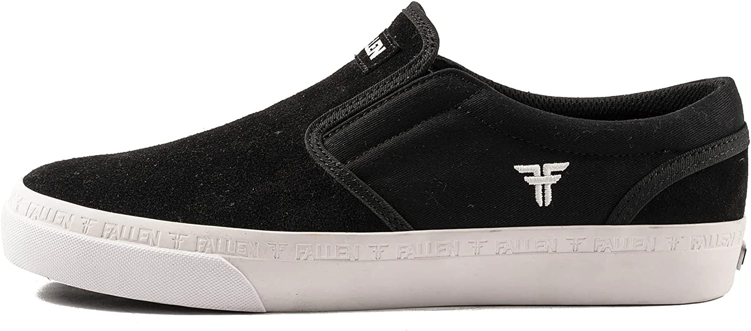 Charlotte Mall Fallen Men's The Easy Black Manufacturer direct delivery Skate 9.5 White Shoes