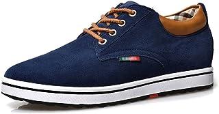 bd3ea9656 ailishabroy Zapatillas Hombre Ascensor Hombres Altura Aumentar Lace Up  Zapatos Casual