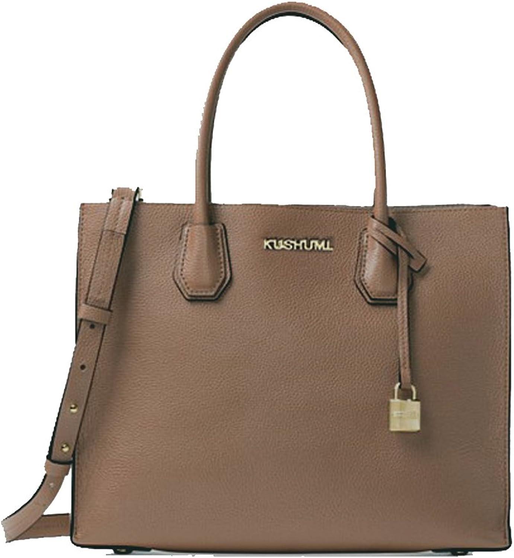 Elf Stella Designer Satchel Purse Womens Top Handle Handbags for Work with Removable Shoulder Strap
