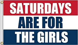 seogol Saturday Girls Flag 3X5 Feet Vivid Colors for College Parties Dorm Room Indoor and Outdoor SAFTG