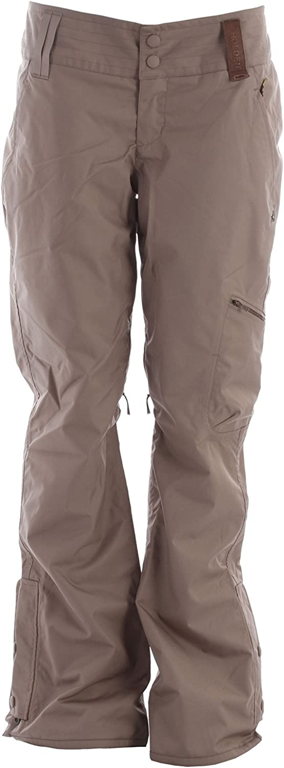 Holden 2013 Womens Holladay Pant (Dark Khaki) Women's Snowboard Pants
