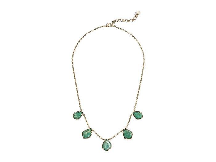 Lucky Brand  Diamond Necklace (Gold) Necklace