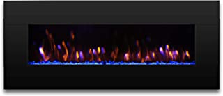 62 in electric fireplace