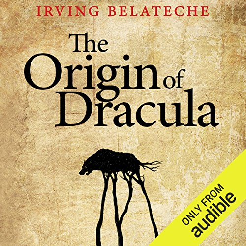 The Origin of Dracula audiobook cover art